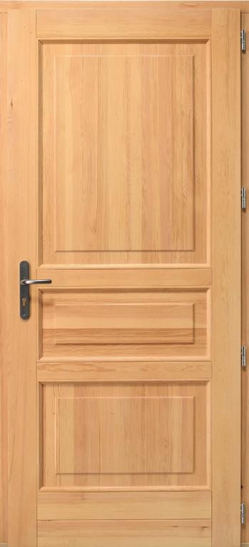 Artscop bois porte d 39 entr e tradi for Porte bois exterieur recoupable