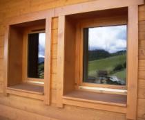 Artscop bois bloc baie ossature bois for Fenetre ossature bois