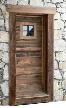 artscop bois porte d 39 entr e habill e. Black Bedroom Furniture Sets. Home Design Ideas