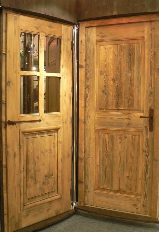porte vieux bois - Porte De Chalet En Bois